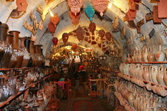 Pottery Shop Stock Photos