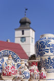 Pottery in Sibiu Royalty Free Stock Photography