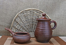Pottery Still Life Stock Photos
