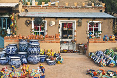 Pottery Store, Arizona Stock Photos