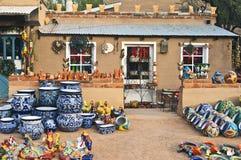 Pottery Store, Arizona Stock Photos