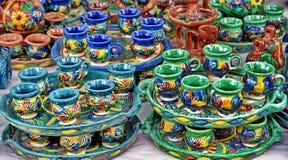 Pottery in Horezu, Romania Stock Photography