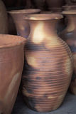 Pottery vases, Trinidad. Pottery is a common handcraft in western Trinidad, mainly in the Chaguanas region. Chaguanas, Trinidad, West Indies Royalty Free Stock Photography