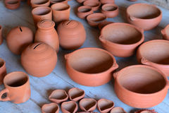 Pottery ware royalty free stock photos