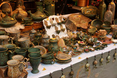 Pottery Ware Stock Image