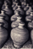 Pottery. Wares on Potters Square Stock Photography