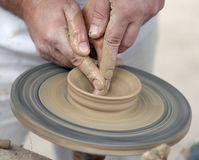 Pottery wheel Stock Photos