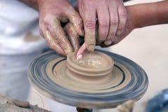 Pottery wheel Royalty Free Stock Photos