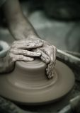 Pottery wheel stock images