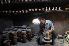 Pottery workshop Stock Photos