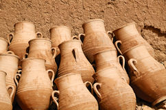 In a pottery workshop Stock Images