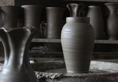 Pottery workshop Stock Image