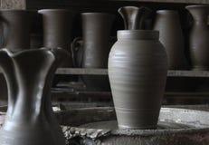 Pottery workshop Stock Image