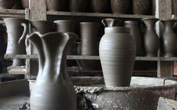 Pottery workshop Royalty Free Stock Image