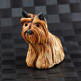 Pottery yorkshire terrier Stock Photos