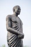 Potti Sreeramulu雕象,海得拉巴 库存照片