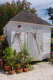 Potting shed Stock Image