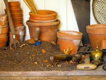 Potting Shed Royalty Free Stock Images