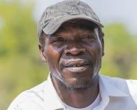Pottrait gambien d'homme Photographie stock libre de droits