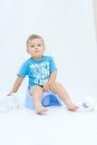 potty тренировка Стоковое Фото