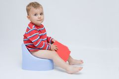 Potty Training Stockfotos