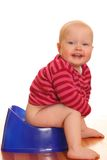 Potty training Stock Image