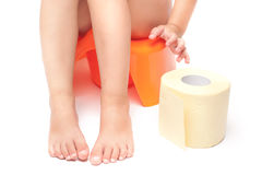 Potty Training stockbilder