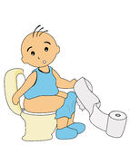 Potty Training Stock Photos