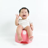 Potty training concept Royalty Free Stock Image