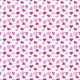 Potu serca wzór Zdjęcie Royalty Free