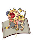 potwór. ilustracja wektor