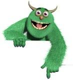 Potwór royalty ilustracja