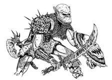 potwór Obraz Royalty Free