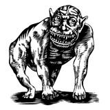 potwór ilustracji