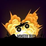 Potwór ciężarówka Zdjęcia Stock