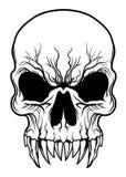 Potwór czaszka royalty ilustracja
