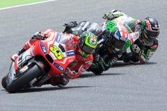 Potwór Energetyczny Uroczysty Catalunya MotoGP Prix Kierowca CAL CRUTCHLOW MotoGP Obrazy Stock