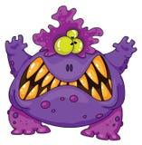 potwór okropny royalty ilustracja