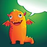Potwór rozmowa ilustracja wektor
