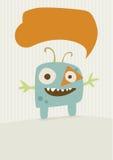 Potwór szczęśliwa ilustracja Obraz Stock