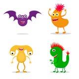 Potworów charaktery ustawiający Zdjęcie Royalty Free