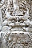 potwora demon w świątynnym zwierzęcym wojowniku Zdjęcia Stock