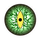 Potwora oka przerażająca gałka oczna royalty ilustracja