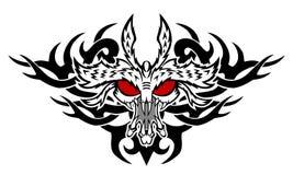 Potwora tatuaż Obraz Stock