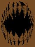Potwora Usta Zdjęcia Stock