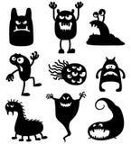potwory ilustracja wektor