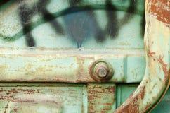 Poubelle de poussière Image stock