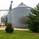Poubelle de stockage de grain Photo stock