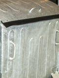 Poubelle en métal Photo libre de droits