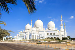 Poubelle Zayed Grand Mosque Images stock